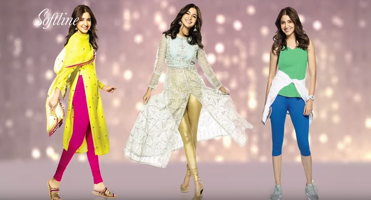 Anushka Sharma Softline Leggings