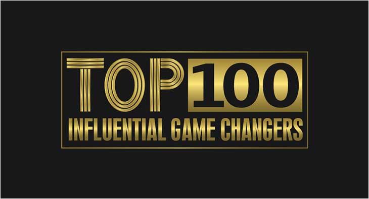Top 100 influencer game changer list.