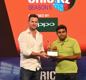 Manish Achuth wins ESPNcricinfo's CricIQ Season 5